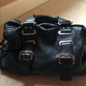Kenneth Cole black hand bag